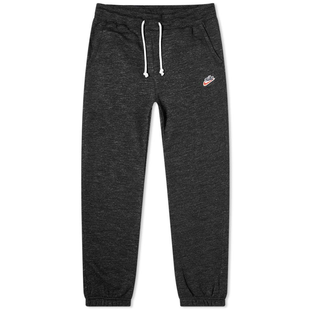 ナイキ Nike メンズ ジョガーパンツ ボトムス・パンツ【Heritage Fleece Jogger】Black Heather/Sail