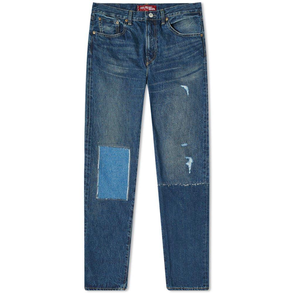 ジュンヤ ワタナベ Junya Watanabe MAN メンズ ジーンズ・デニム リーバイス ボトムス・パンツ【x Levi's Damaged Jean】Indigo
