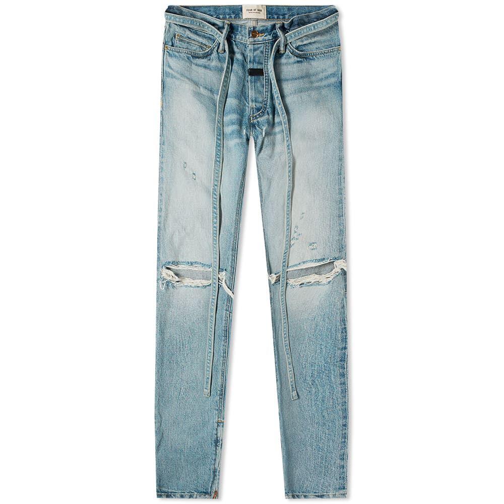 フィアオブゴッド Fear Of God メンズ ジーンズ・デニム ボトムス・パンツ【Fear of God Standard Fit Jean】Vintage Indigo