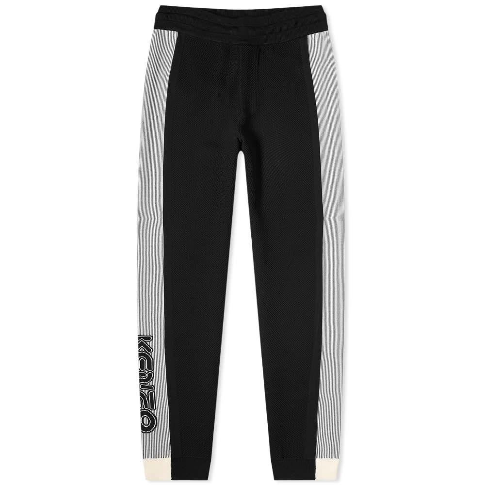 ケンゾー Kenzo メンズ スウェット・ジャージ ボトムス・パンツ【Taped Logo Sport Pant】Black