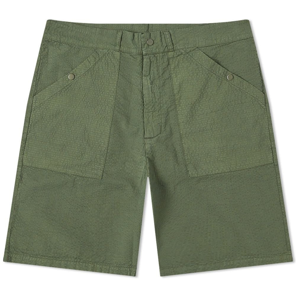 レ ベーシックス Les Basics メンズ ショートパンツ ボトムス・パンツ【Le Patch Short】Sage