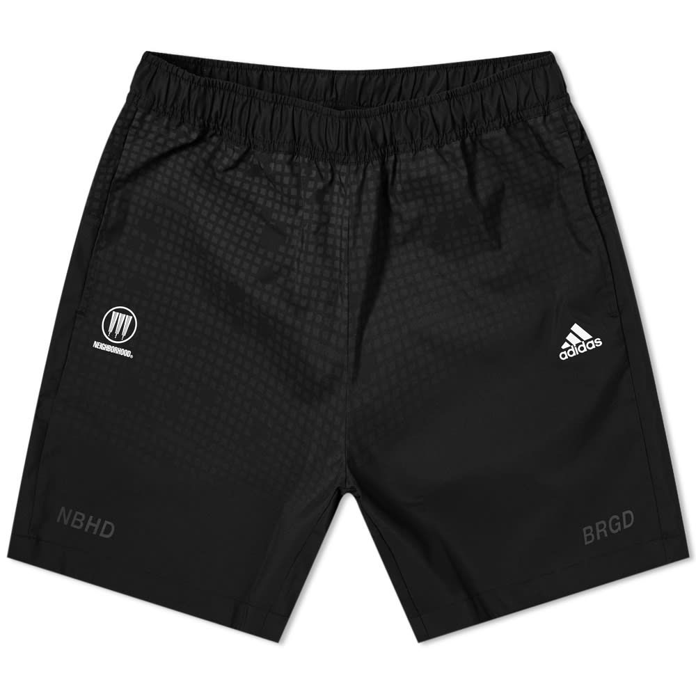 アディダス Adidas Consortium メンズ ショートパンツ ボトムス・パンツ【Adidas x Neighborhood Run Short】Black