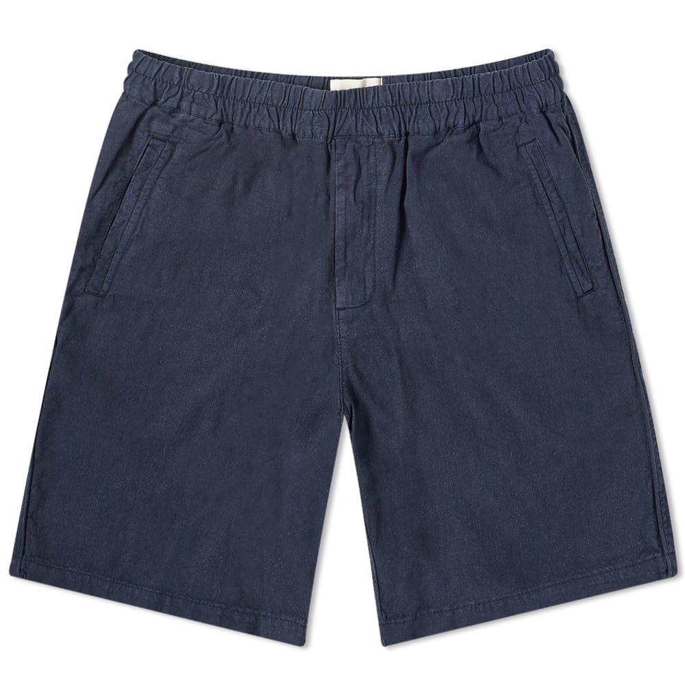 フォーク Folk メンズ ショートパンツ ボトムス・パンツ【Cotton Linen Short】Summer Navy