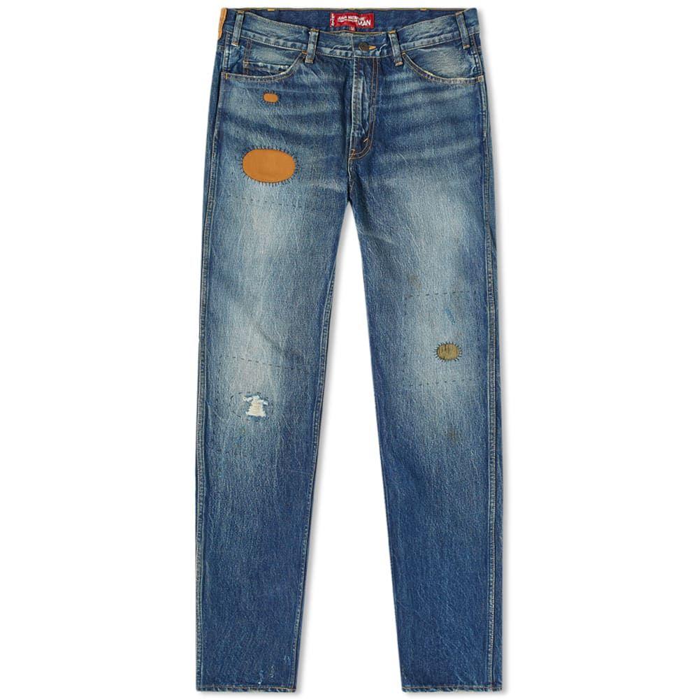 ジュンヤ ワタナベ Junya Watanabe MAN メンズ ジーンズ・デニム リーバイス ボトムス・パンツ【x Levi's Cut & Sew Jean】Indigo