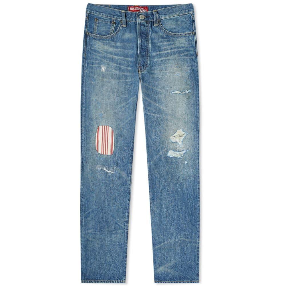 ジュンヤ ワタナベ Junya Watanabe MAN メンズ ジーンズ・デニム ダメージジーンズ リーバイス ボトムス・パンツ【x Levi's Repair Slim Jean】Indigo