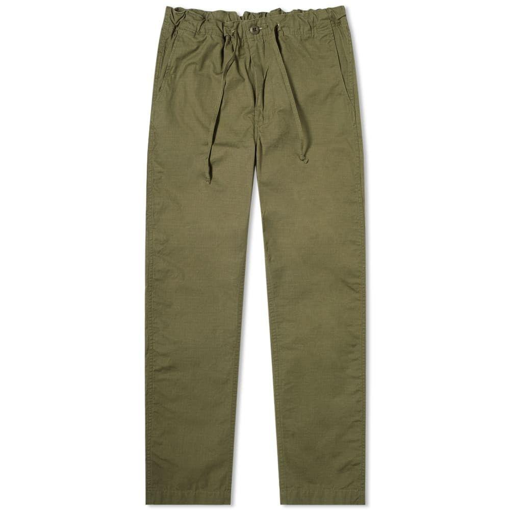 オアスロウ orSlow メンズ チノパン ボトムス・パンツ【New York Tapered Pant】Army Green