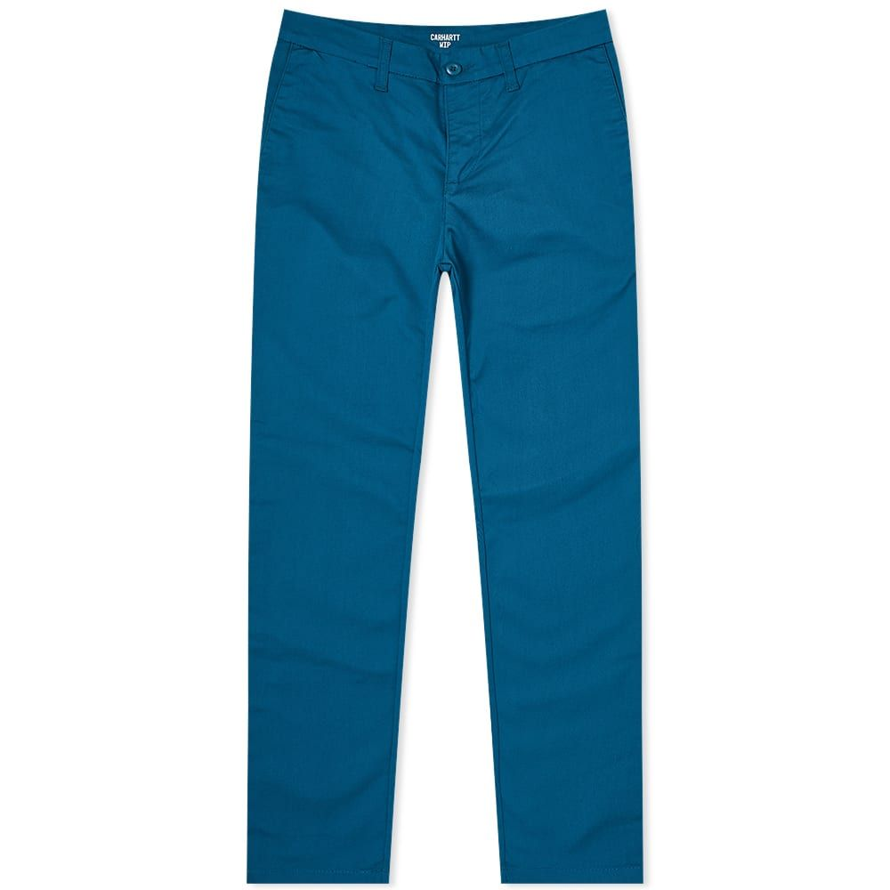 カーハート Carhartt WIP メンズ ボトムス・パンツ 【Sid Pant】Moody Blue