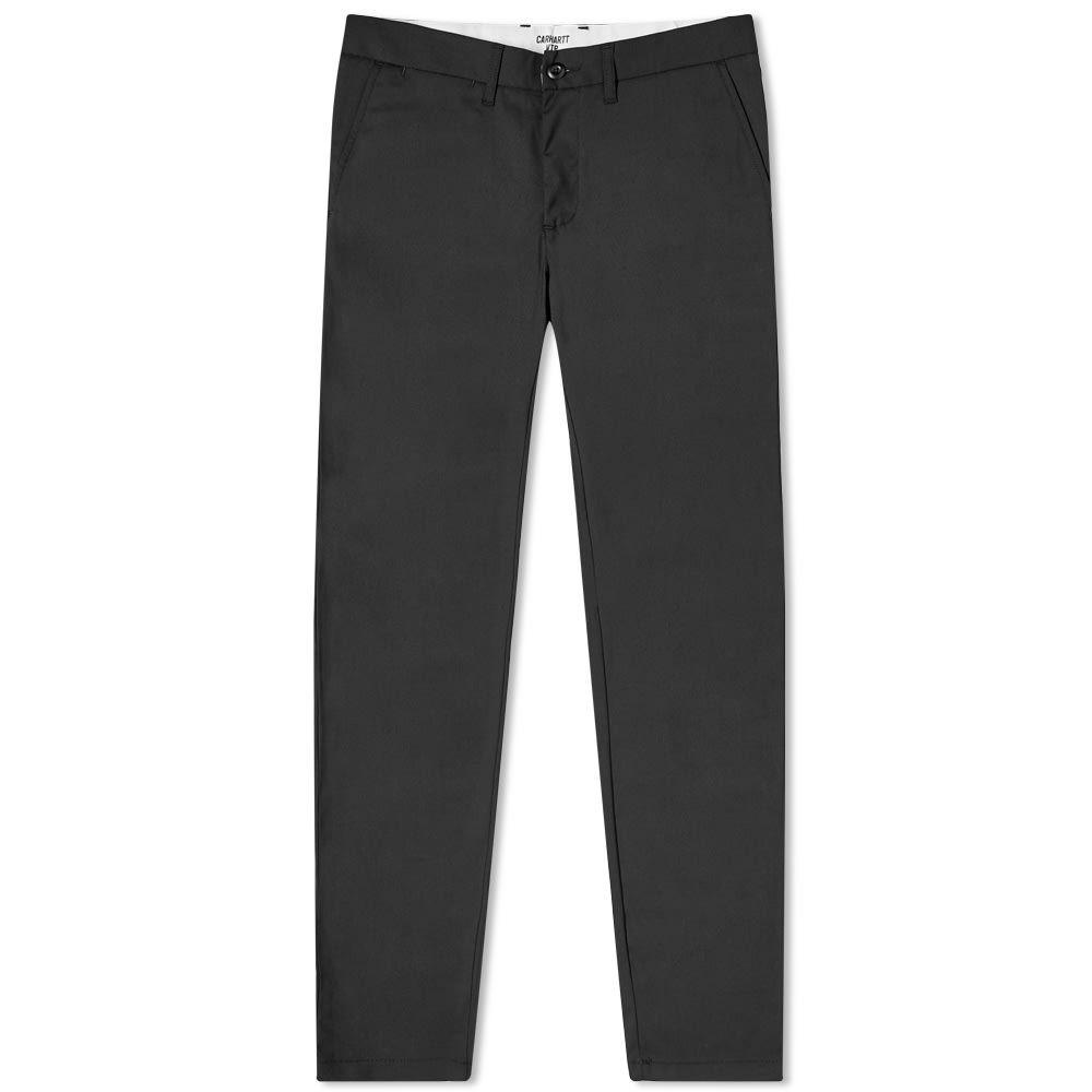 カーハート Carhartt WIP メンズ ボトムス・パンツ 【Johnson Pant】Black
