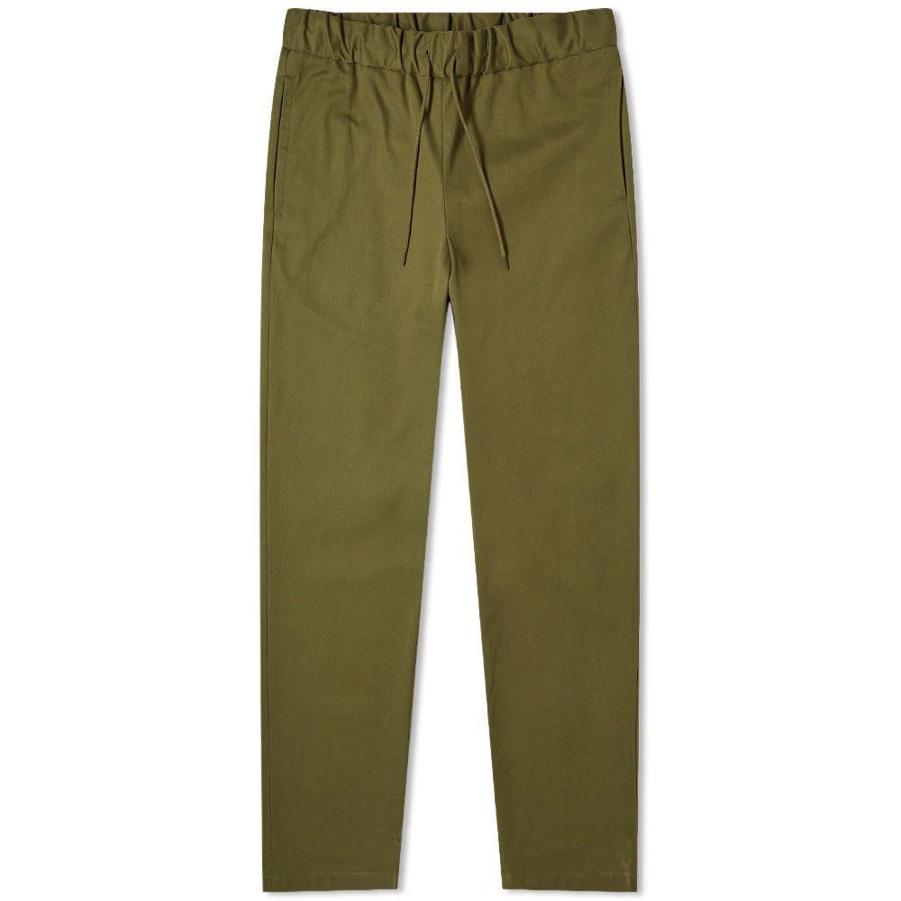 アーペーセー A.P.C. メンズ ボトムス・パンツ 【Kaplan Elasticated Waist Trouser】Military Khaki