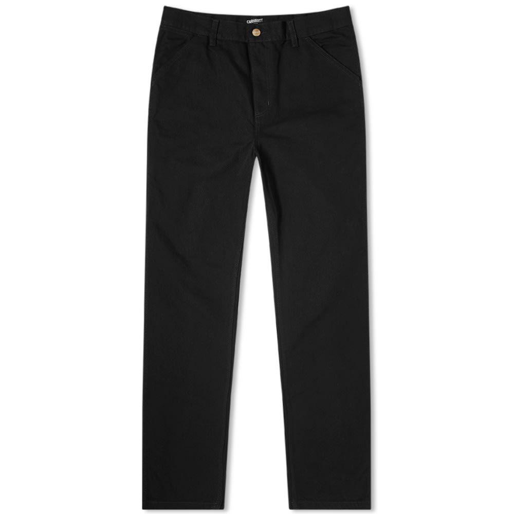 カーハート Carhartt WIP メンズ ジーンズ・デニム ボトムス・パンツ【Single Knee Pant】Black