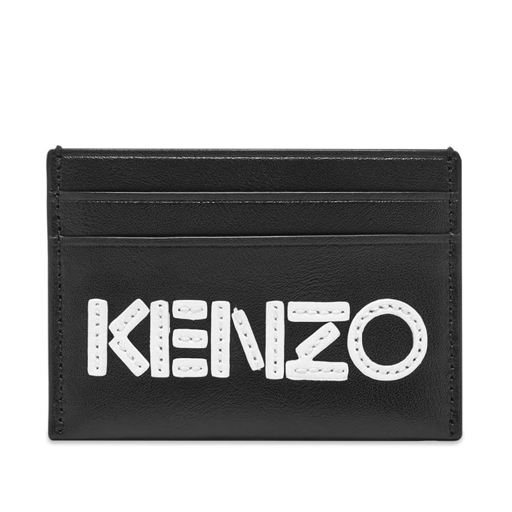 ケンゾー Kenzo メンズ カードケース・名刺入れ カードホルダー【Leather Logo Card Holder】Black