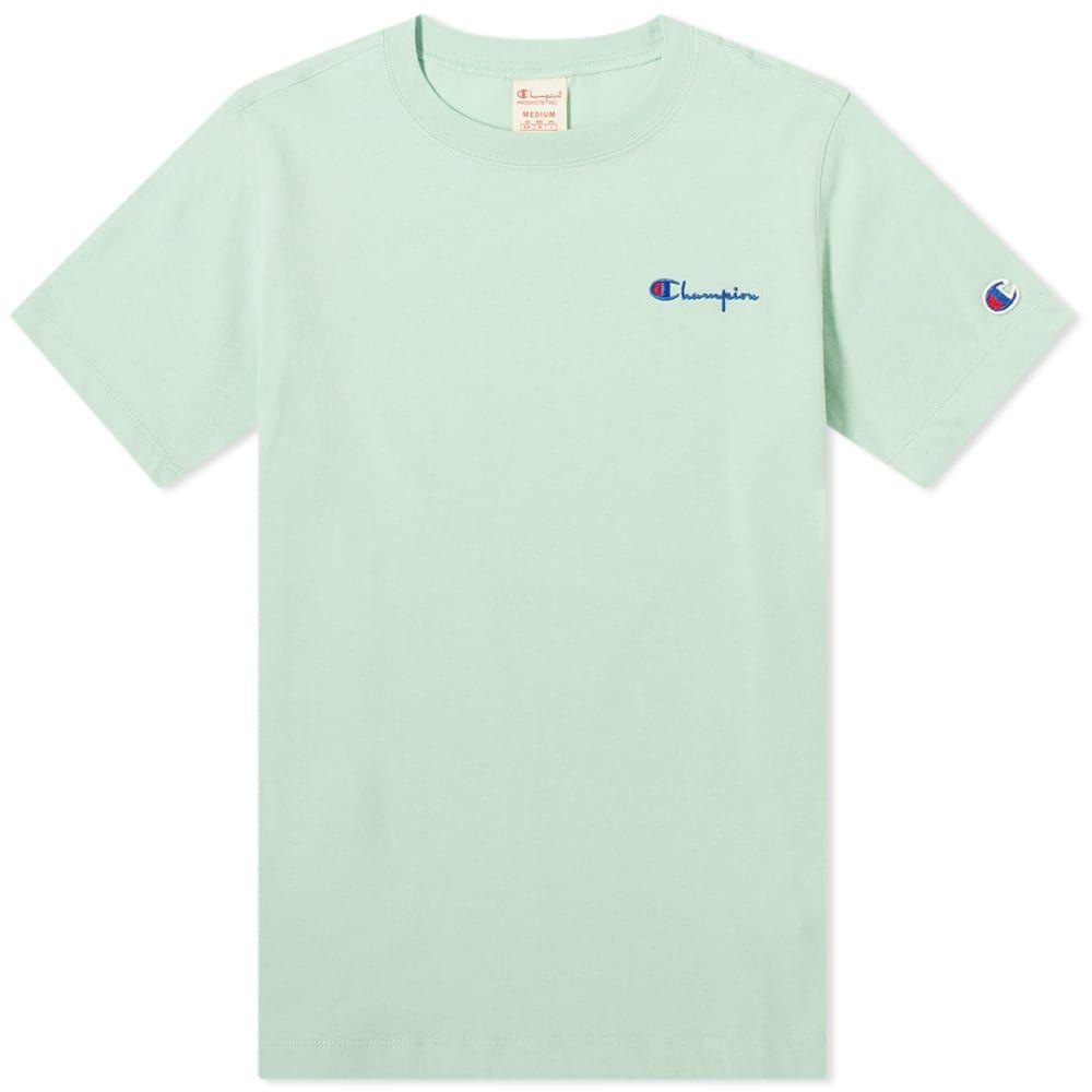 チャンピオン Champion Reverse Weave レディース Tシャツ ロゴTシャツ トップス【Small Script Logo Tee】Hemlock
