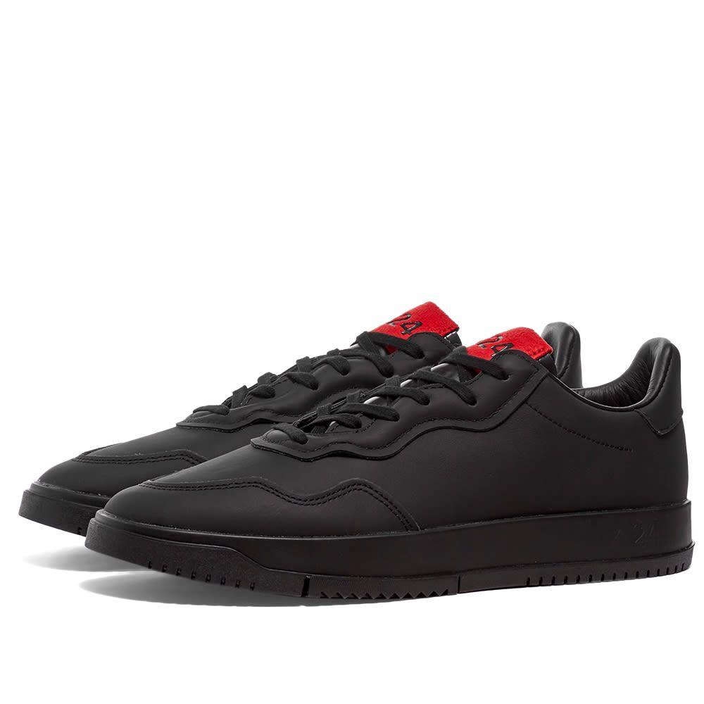アディダス Adidas Consortium メンズ スニーカー シューズ・靴【Adidas x 424 SC Premiere】Black/Scarlet