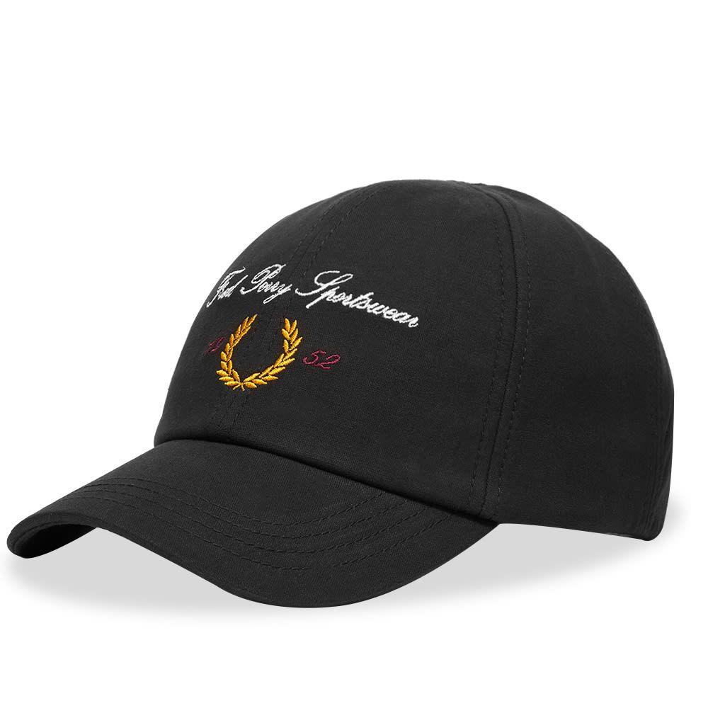 フレッドペリー Fred Perry Authentic メンズ キャップ ベースボールキャップ 帽子 Archive Logo Baseball Cap BlackzjqpGLMSUV