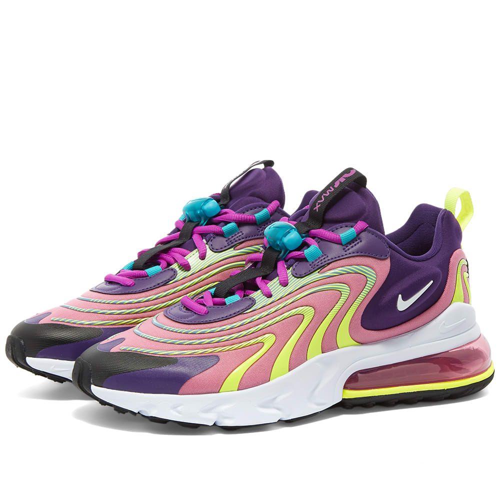 ナイキ Nike レディース スニーカー エアマックス 270 シューズ・靴【Air Max 270 React ENG W】Eggplant/Flamingo/Purple