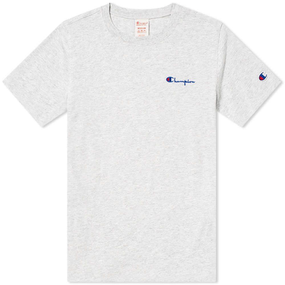 チャンピオン Champion Reverse Weave レディース Tシャツ ロゴTシャツ トップス【Small Script Logo Tee】Grey Marl