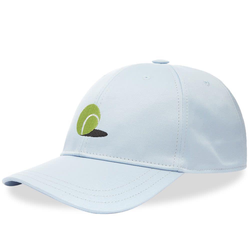 トム ブラウン Thom Browne メンズ キャップ 帽子【Tennis Ball Icon Cap】Blue