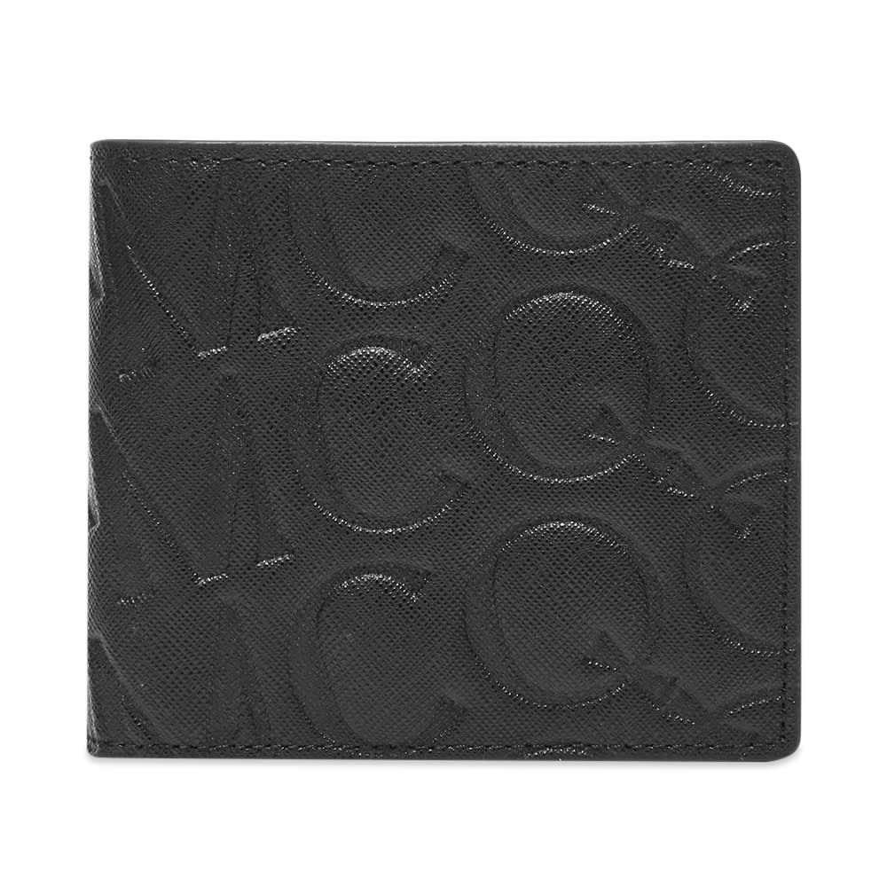 アレキサンダー マックイーン McQ Alexander McQueen メンズ 財布 二つ折り【Logo Embossed Billfold Wallet】Black