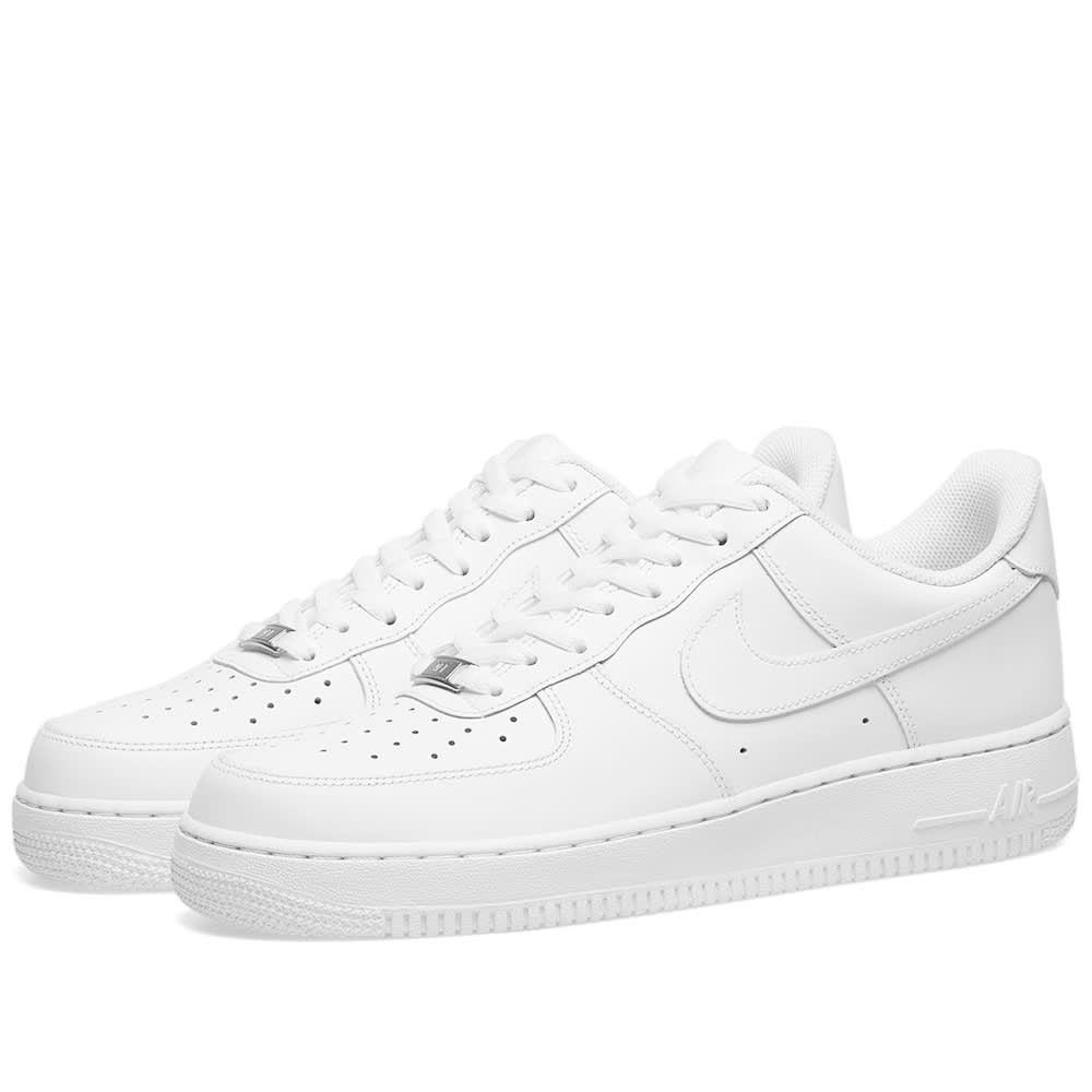 ナイキ Nike レディース スニーカー エアフォースワン シューズ・靴【Air Force 1 '07 W】White