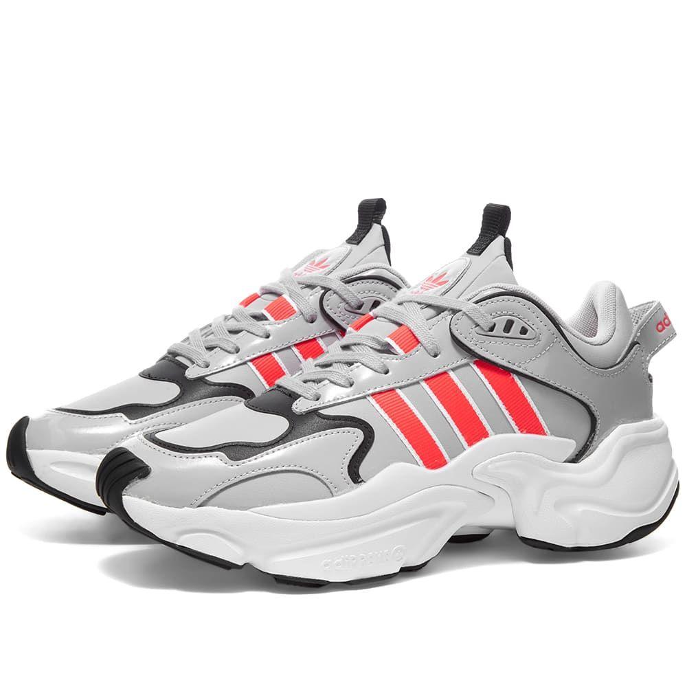 アディダス Adidas レディース ランニング・ウォーキング シューズ・靴【Magmur Runner W】Grey/Red/White