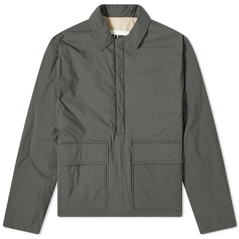 ジル サンダー Jil Sander メンズ ジャケット アウター【+ Drawstring Jacket】Charcoal