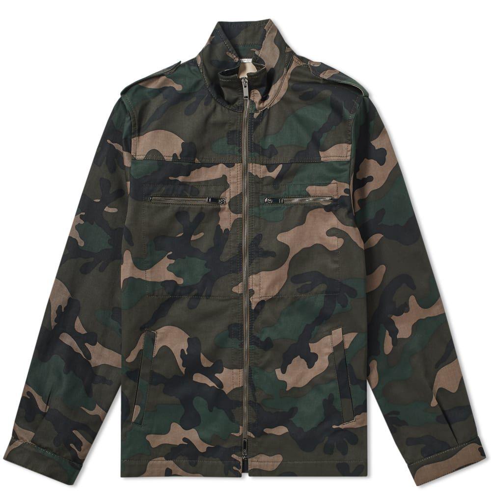 ヴァレンティノ Valentino メンズ ジャケット アウター【Love & Star M65 Field Jacket】Camo