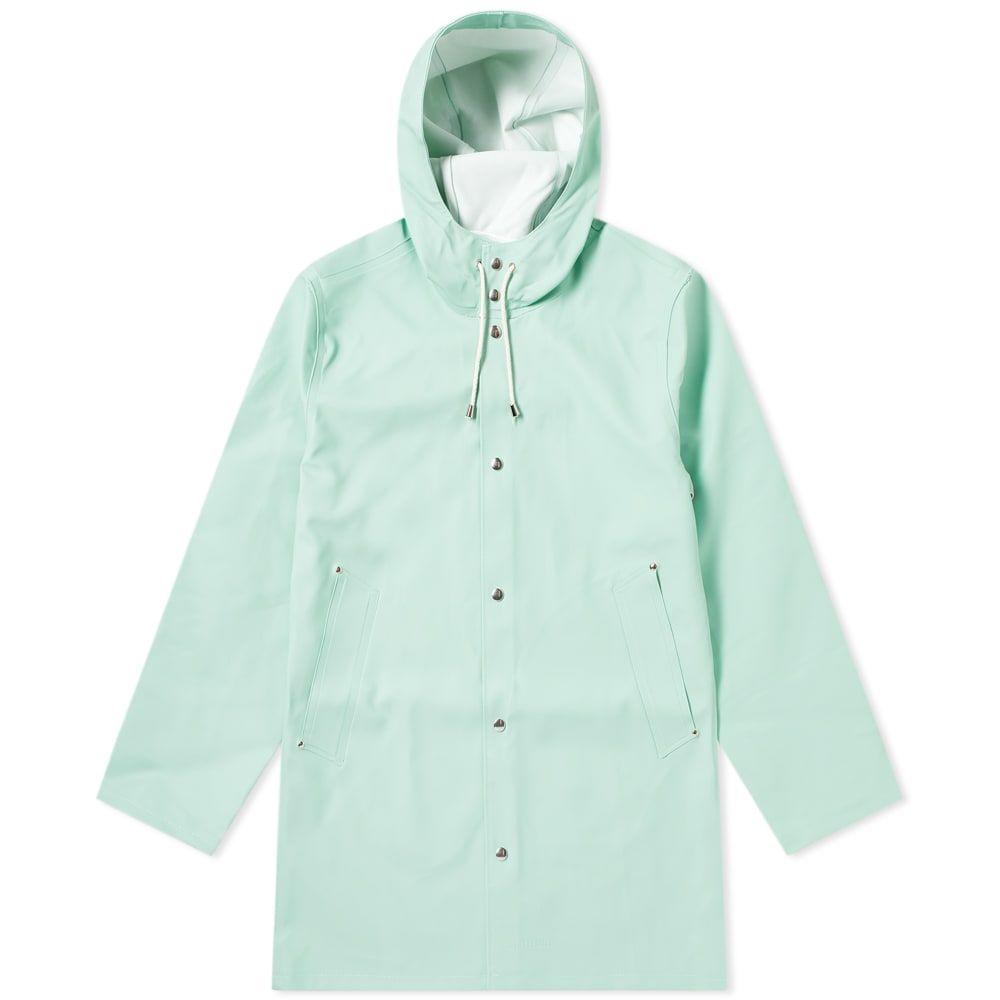 ストゥッテルハイム Stutterheim メンズ レインコート アウター【Stockholm Raincoat】Green Mint