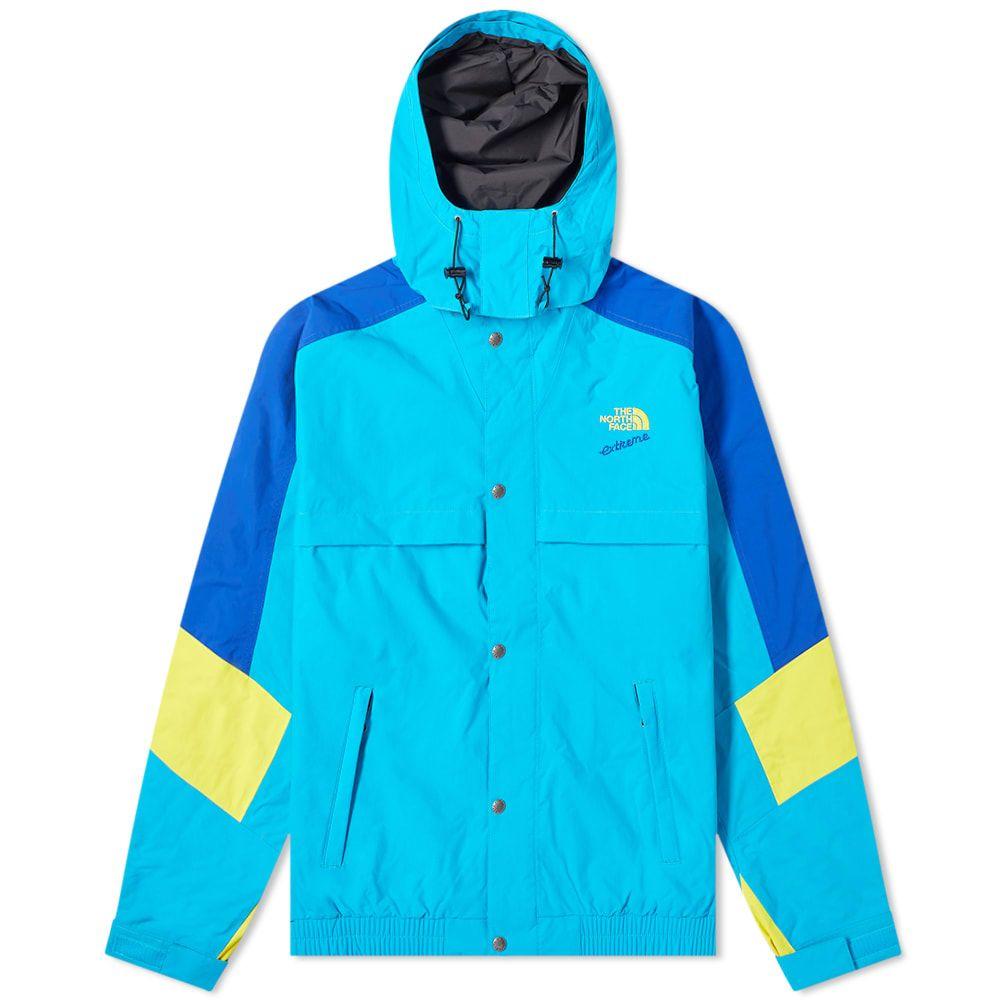 ザ ノースフェイス The North Face メンズ レインコート アウター【92 Extreme Rain Jacket】Meridian Blue Combo