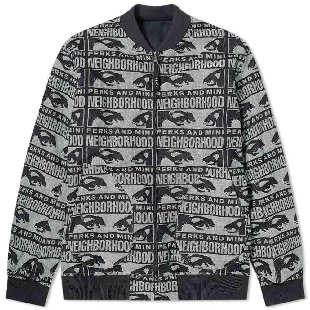 ネイバーフッド Neighborhood メンズ ジャケット アウター【x P.A.M Cut & Sew Jacket】Indigo