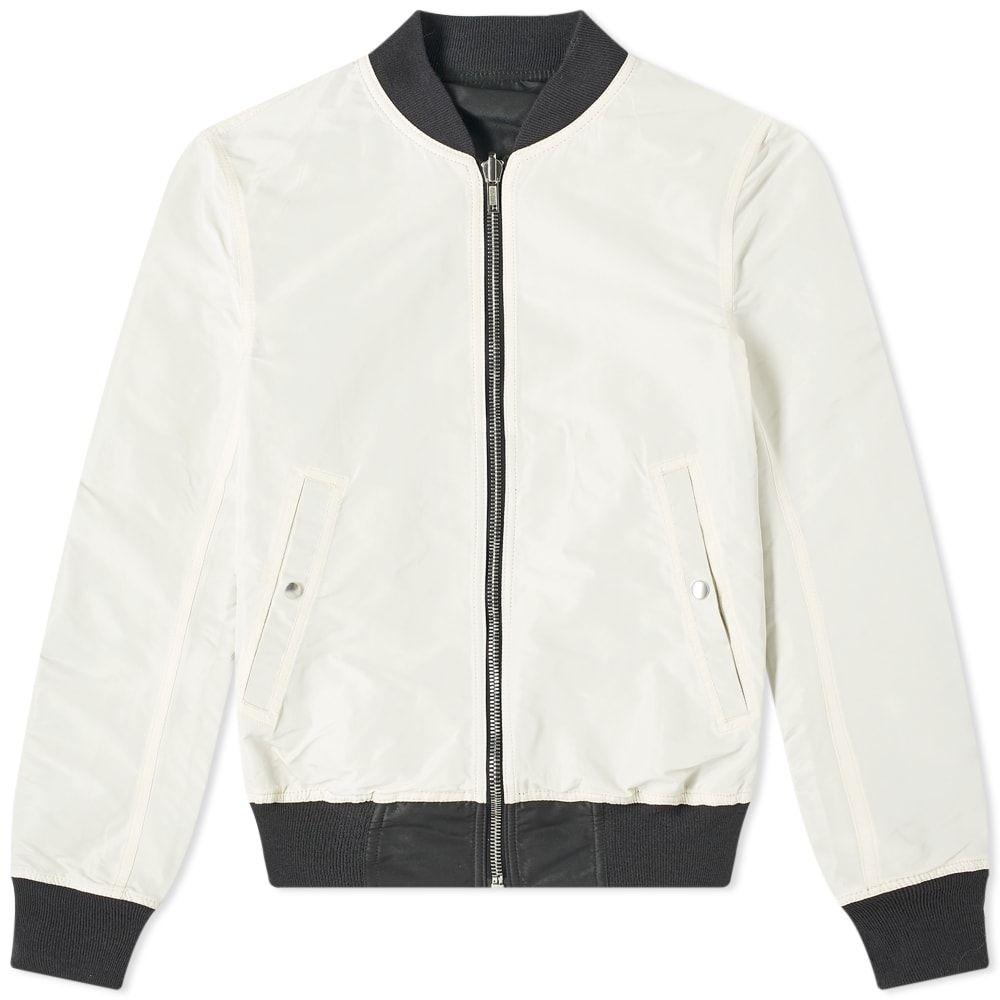 リック オウエンス Rick Owens メンズ ブルゾン フライトジャケット アウター【Reversible Flight Jacket】Black/Champagne