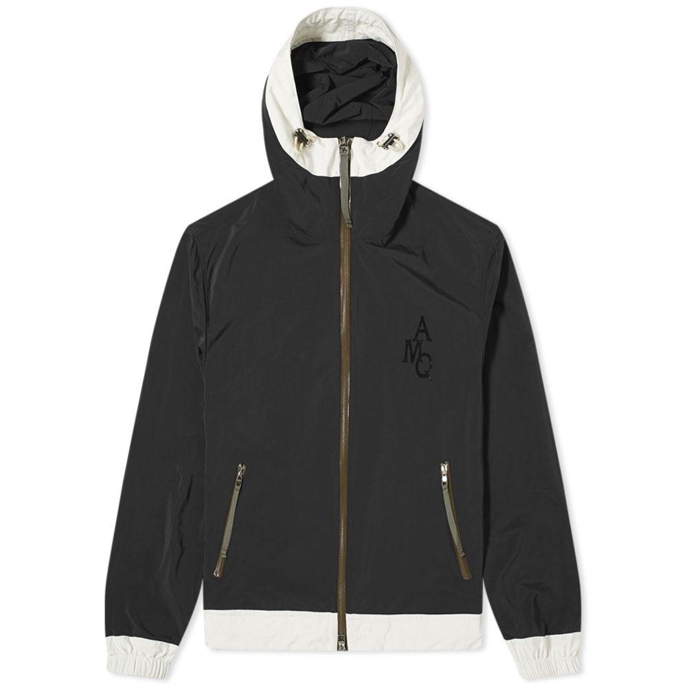 アレキサンダー マックイーン Alexander McQueen メンズ ジャケット ウィンドブレーカー アウター【AMQ Nylon Windbreaker】Black