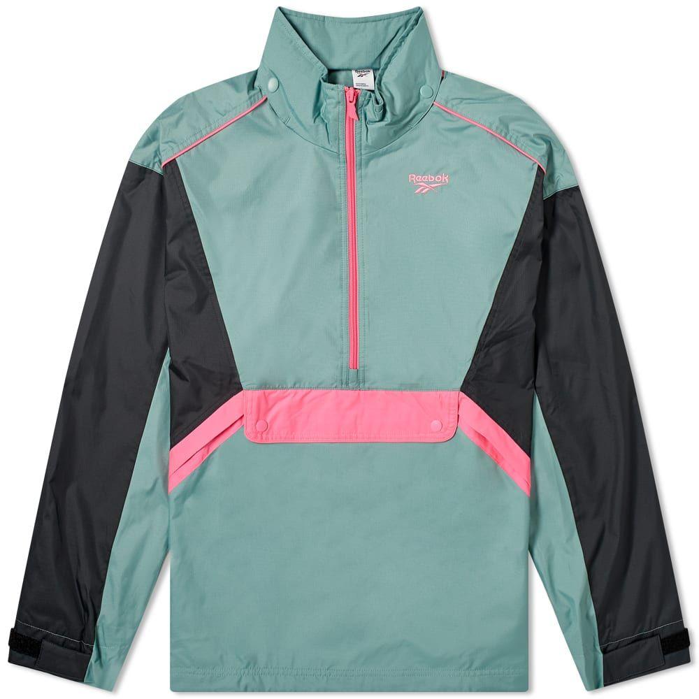 リーボック Reebok メンズ ジャケット アウター【Trail Jacket】Green/Pink