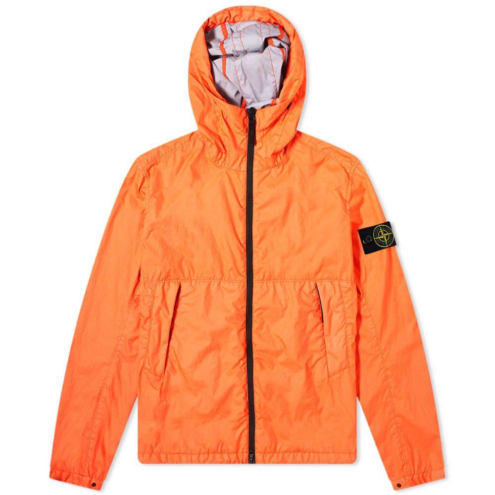 ストーンアイランド Stone Island メンズ ジャケット フード アウター【Membrana 3L TC Hooded Jacket】Orange Red