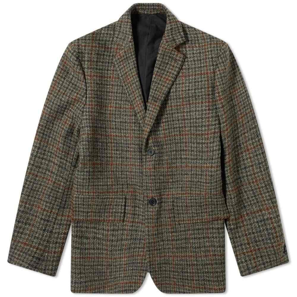 マーガレットハウエル Margaret Howell メンズ スーツ・ジャケット アウター【Wide Wrap Blazer】Peat/Rust