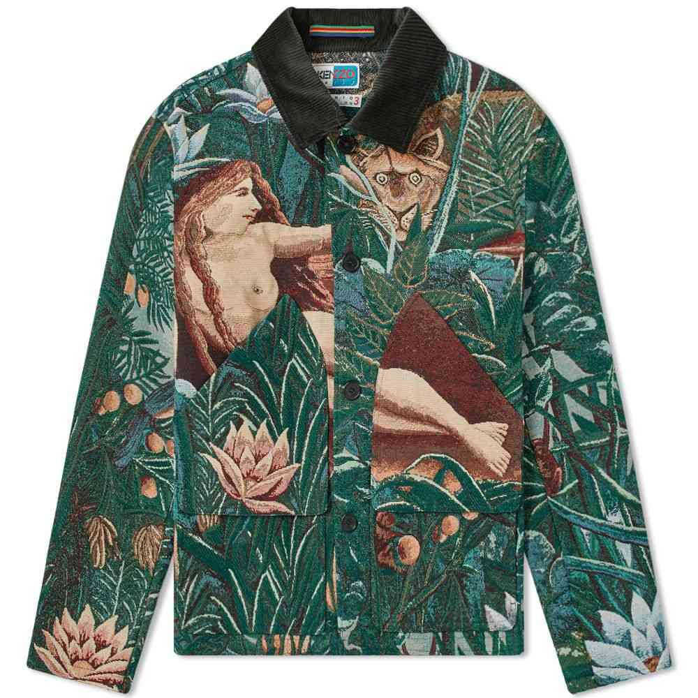 ケンゾー Kenzo メンズ ジャケット ワークジャケット アウター【Rousseau Work Jacket】Pine