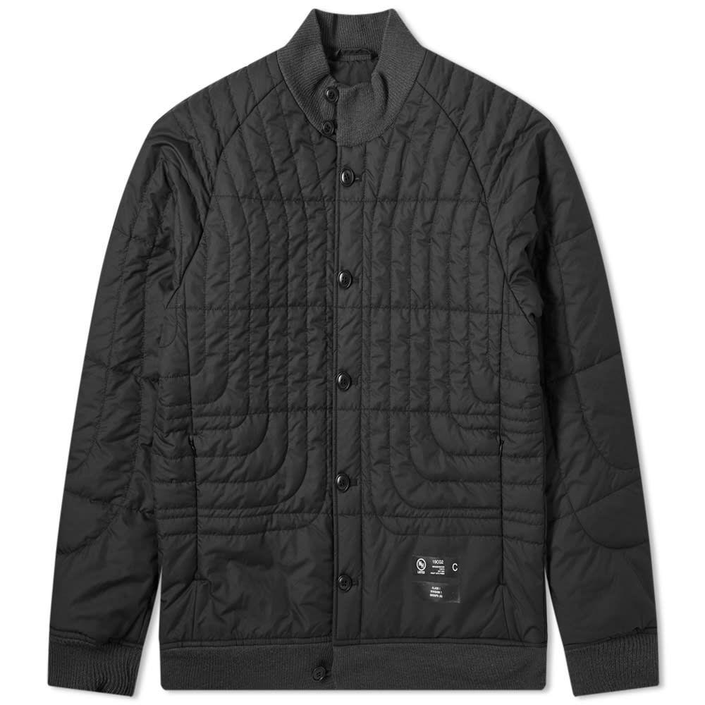 ネイバーフッド Neighborhood メンズ ジャケット アウター【Design Quilt Jacket】Black