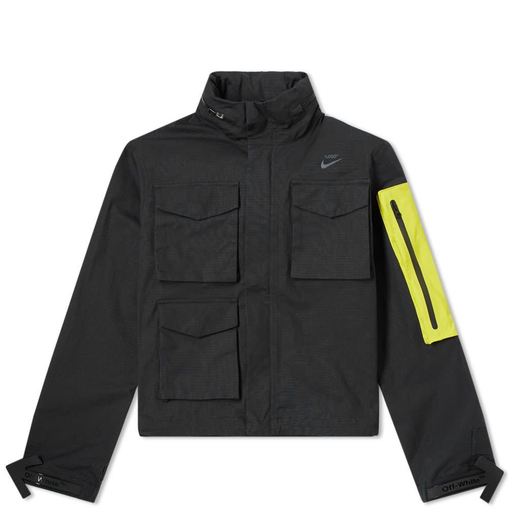ナイキ Nike メンズ ジャケット アウター【x Off-White NRG Jacket #27】Black