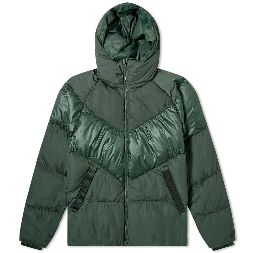 ナイキ Nike メンズ ダウン・中綿ジャケット フード アウター【Hooded Down Jacket】Galactic Jade/Black