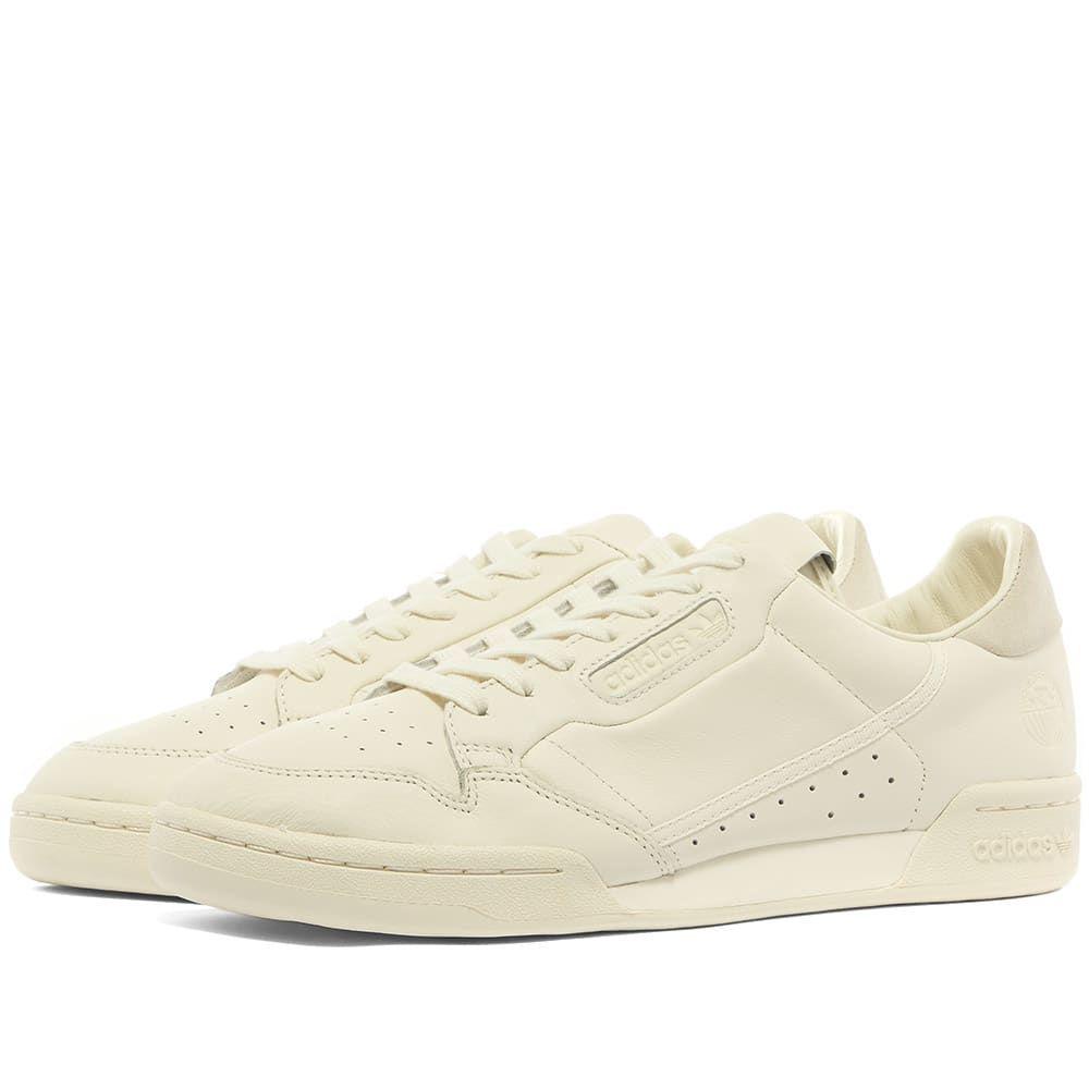 アディダス Adidas メンズ スニーカー シューズ・靴【Continental 80】Off White