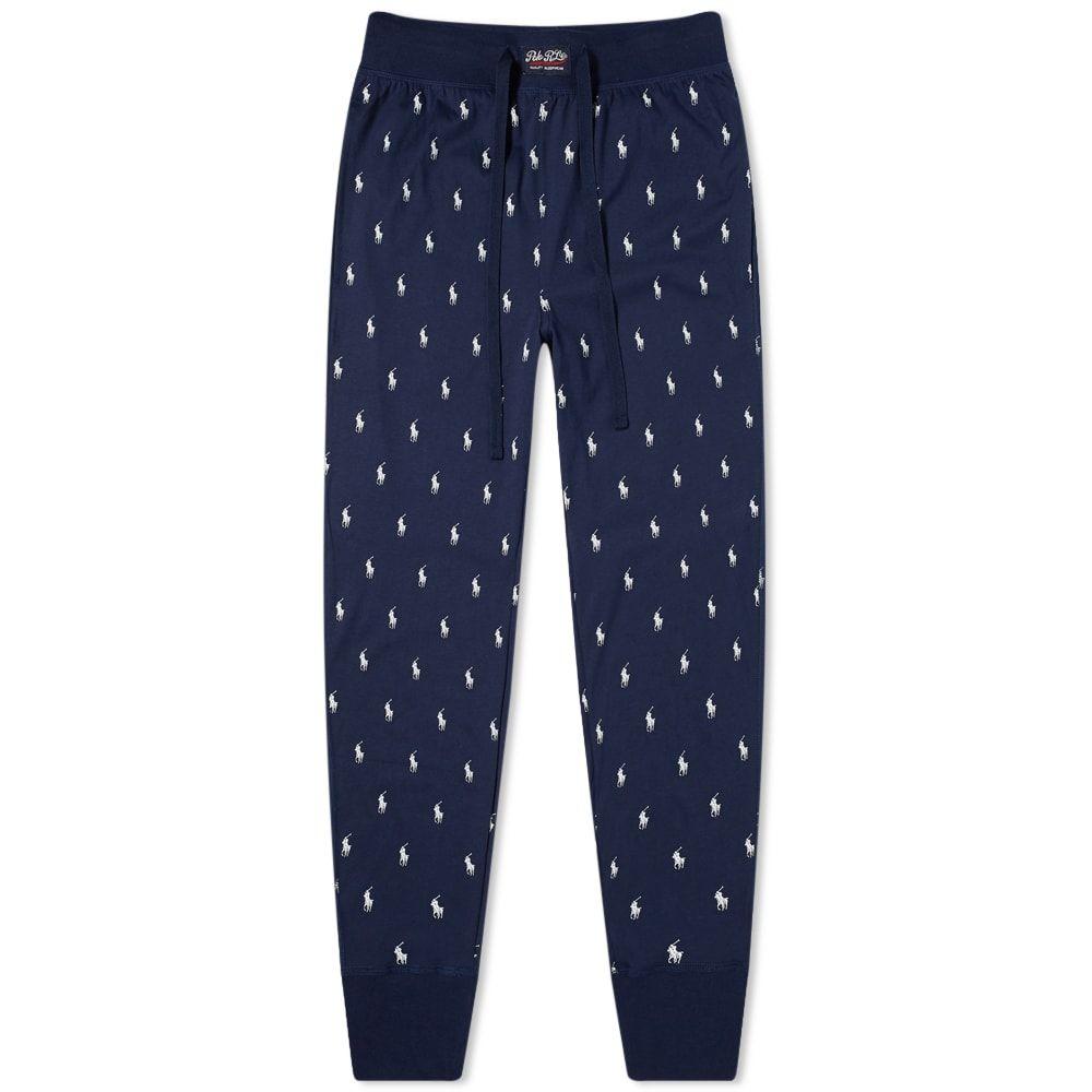 ラルフ ローレン Polo Ralph Lauren メンズ パジャマ・ボトムのみ インナー・下着【Sleepwear All Over Pony Sweat Pant】Navy
