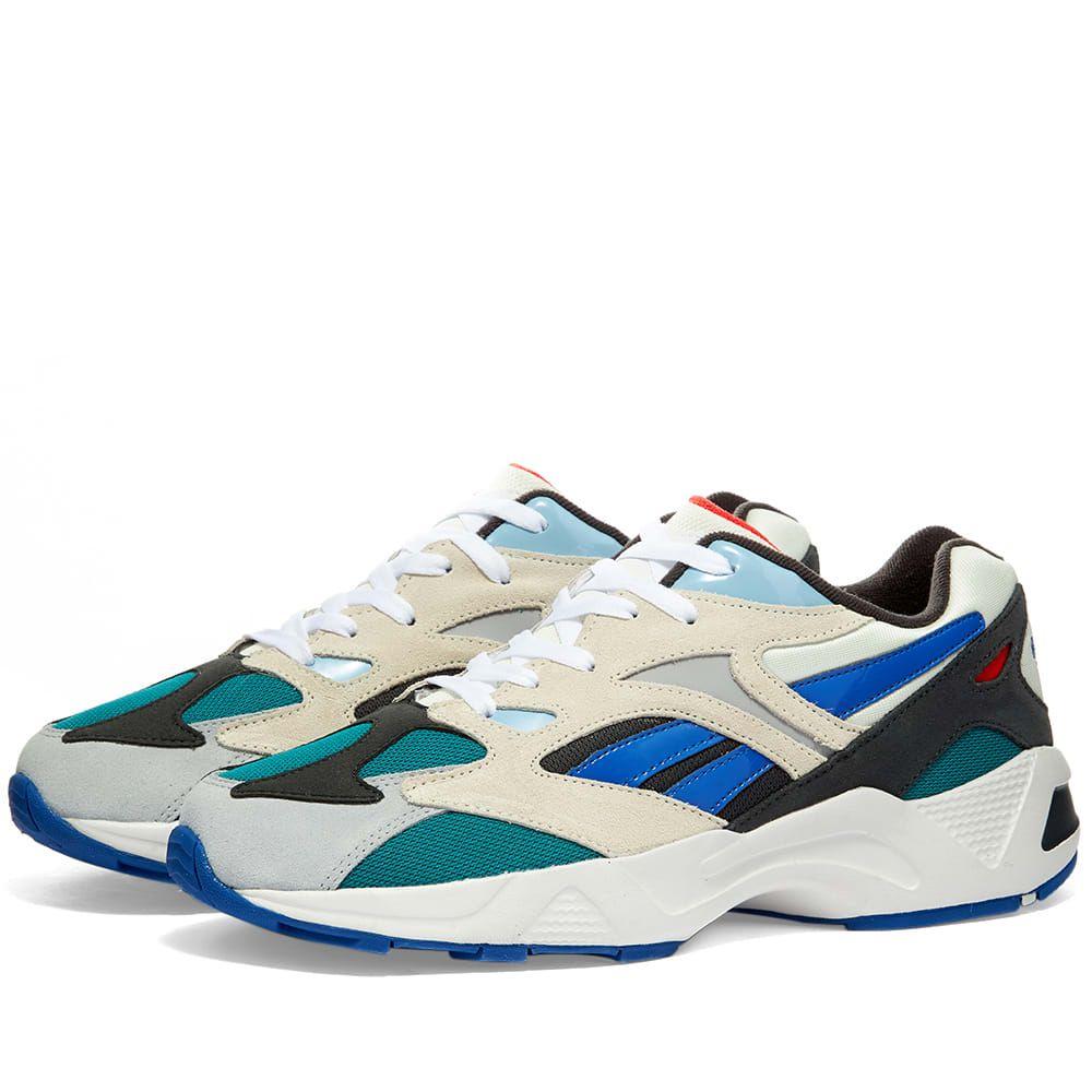 リーボック Reebok メンズ スニーカー シューズ・靴【Aztrek 96】Chalk/Seaport Teal/Blue