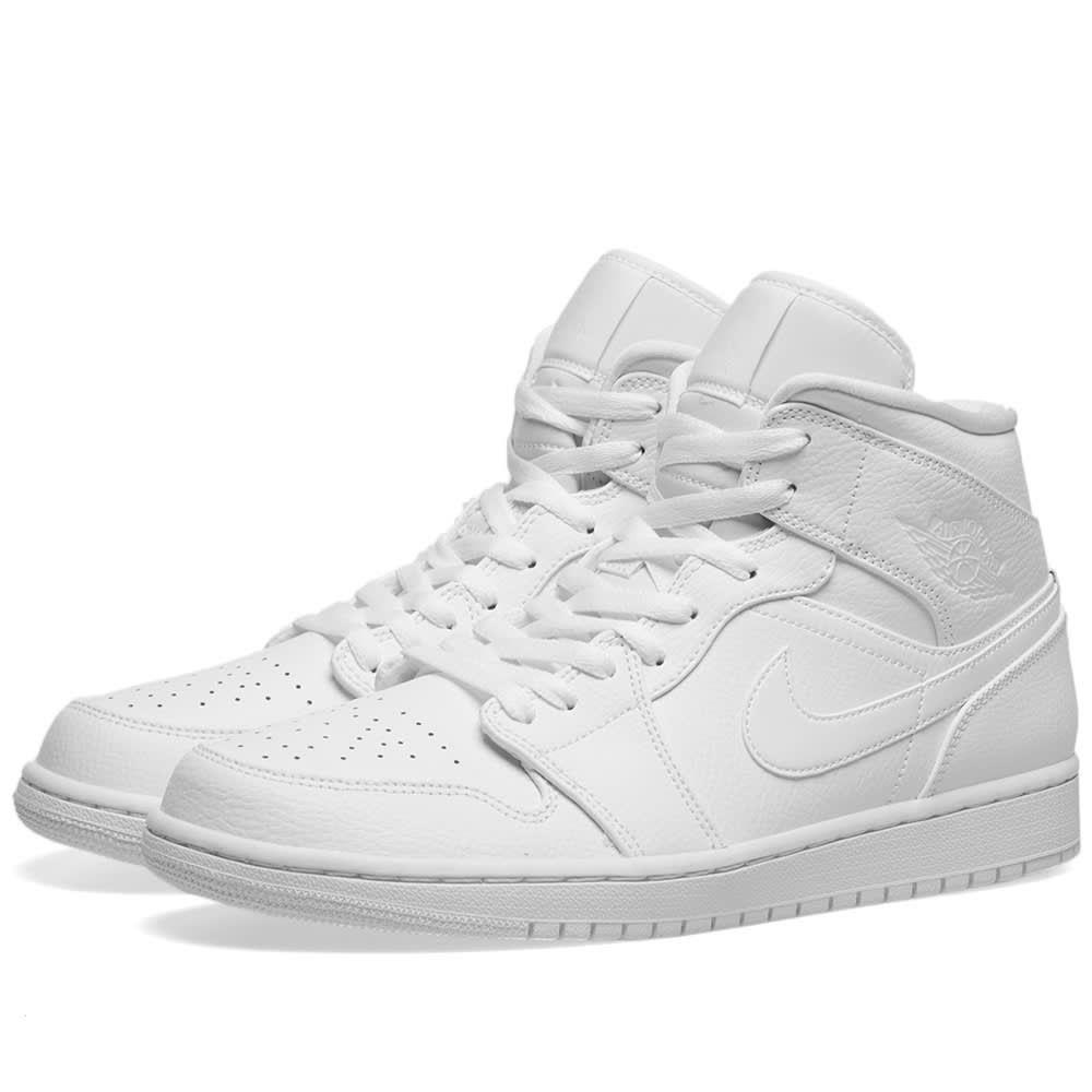 ナイキ ジョーダン Nike Jordan メンズ スニーカー シューズ・靴【Air Jordan 1 Mid】White