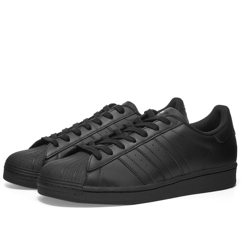 アディダス Adidas メンズ スニーカー シューズ・靴【Superstar】Black