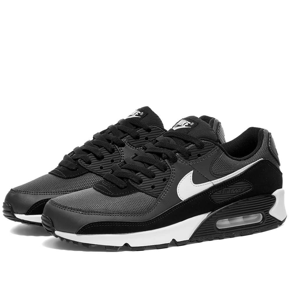 ナイキ Nike メンズ スニーカー シューズ・靴【Air Max 90】Iron Grey/White/Black