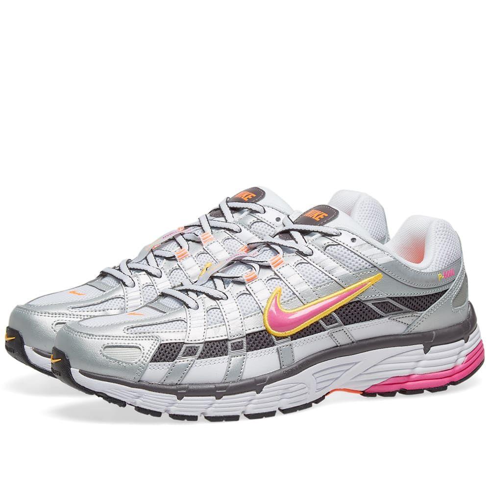 ナイキ Nike メンズ スニーカー シューズ・靴【P-6000 CNCPT】White/Laser Fuchsia/Silver
