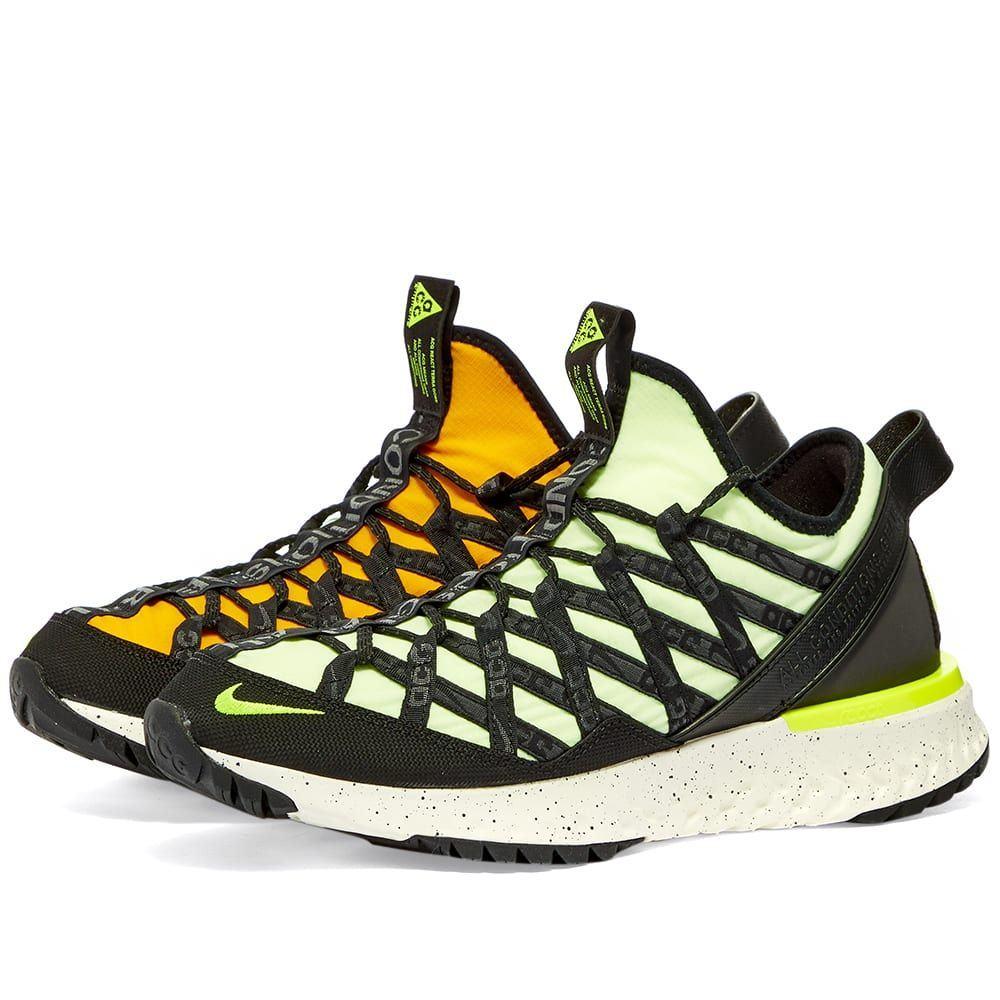 ナイキ Nike メンズ スニーカー シューズ・靴【ACG React Terra Gobe】Barley Volt/University Gold