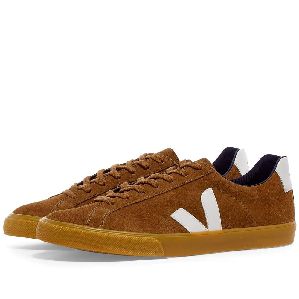 ヴェジャ Veja メンズ スニーカー シューズ・靴【Esplar Clean Suede Sneaker】Brown/Gum