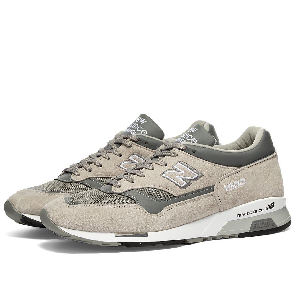 ニューバランス New Balance メンズ スニーカー シューズ・靴【M1500PGL - Made in England】Grey