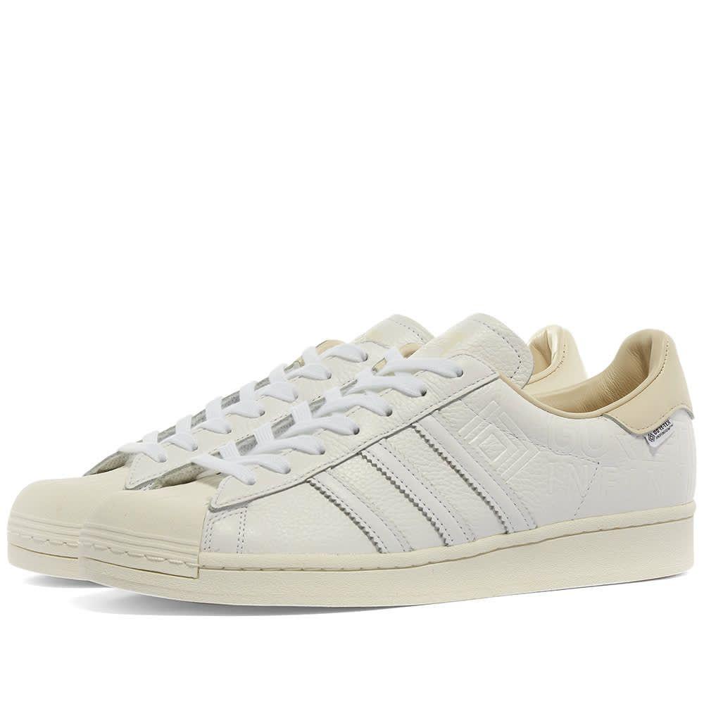 アディダス Adidas メンズ スニーカー シューズ・靴【Superstar Gore-Tex】White/Off White