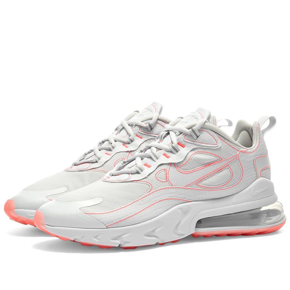 ナイキ Nike メンズ スニーカー エアマックス 270 シューズ・靴【Air Max 270 React】White/Flash Crimson